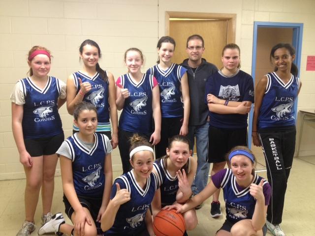 LcPS girls basket ball team